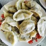 黄瓜鸡蛋虾仁水饺