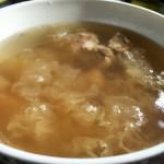 苹果雪梨排骨汤