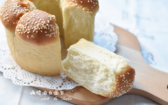 橄榄油白面包