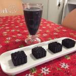 芝麻黑豆浆+芝麻黑豆糕