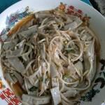 绿豆芽炒灌肠
