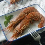 菜鸟也能胜任的宴客大菜【香煎阿根廷红虾】