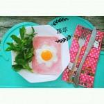 美式火腿煎蛋