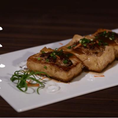 豆腐和肉的碰撞