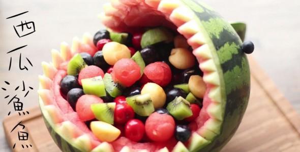 西瓜还在切着吃 水果拼盘的做法 西瓜还在切着吃 水果拼盘的家常做法