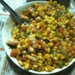 虾仁松子玉米