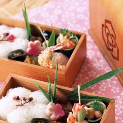 煎虾日式盒饭菜谱