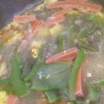 丝瓜煎蛋汤