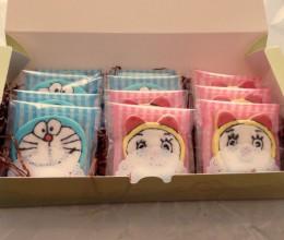 哆啦A梦霜糖饼干