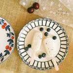 蓝莓奶油雪糕