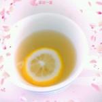 夏日饮品*冰凉柠檬水