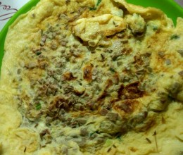 羊肝鸡蛋饼