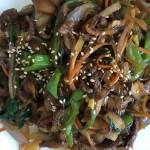 韓國炒粉絲(炒雜菜)