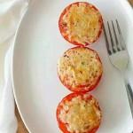 芝士烤番茄