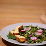 可以出现餐桌上的法国沙拉
