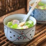 丝瓜怎么做好吃--蛤丝瓜汤