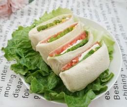 【简单营养美味】口袋三明治