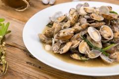 花雕酒酿焖花蛤|美食台