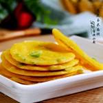 葱花玉米面饼
