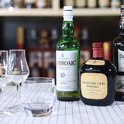 威士忌的四种经典喝法
