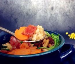 #东菱智能面包机#香菇腊味饭
