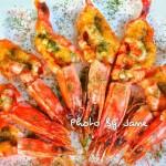 沙拉芥末酱焗大虾#丘比沙拉汁#