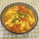 番茄榨菜蛋汤