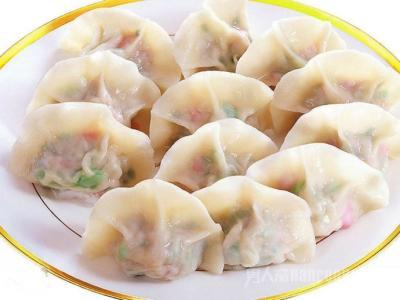 虾仁甜豆鸡蛋肉饺子馅