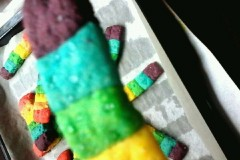 超赞的彩虹饼干