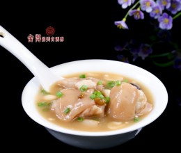 【花生绿豆猪脚汤】夏季的靓汤