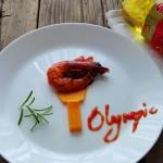 奥运圣火之茄汁虾#专利好油为冠军加油#