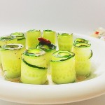 沙拉黃瓜卷#丘比沙拉汁#