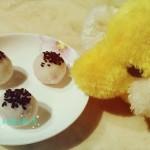 山药紫薯芝麻饼