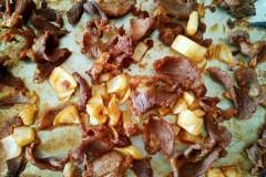烤羊肉片(大喜大烤肉酱)