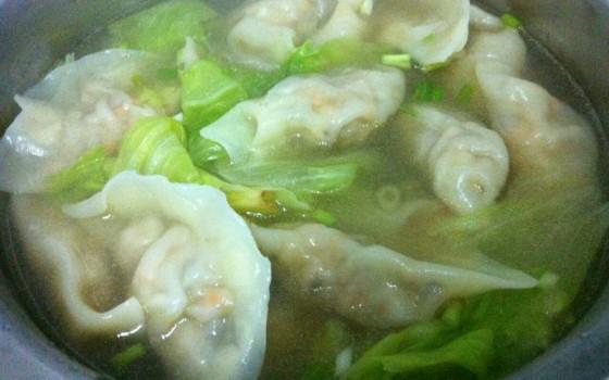 香菇鲜肉水饺
