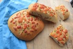 培根奶酪大面包(橄榄油版)