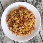 玉米炒火腿肠