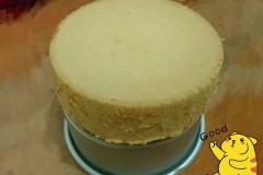 戚风蛋糕(六寸活底圆模)