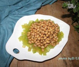西瓜翠衣拌黄豆