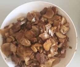 肉炒杏鲍菇