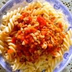 中国版番茄肉酱通心粉