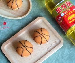 篮球夹心蛋糕#专利好油为冠军加油#