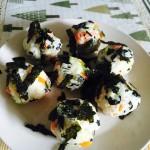 韩式海苔拌饭团