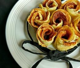松饼玫瑰花蛋糕