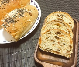 以假乱真的全麦面包(没有一滴油没有全麦粉)