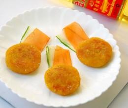 花生南瓜饼  #专利好油为冠军加油#