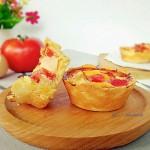 【花样西红柿】–【雪梨西红柿蛋塔】