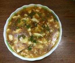 麻婆豆腐花