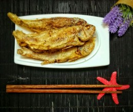 干炸小黄鱼