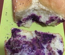 紫薯面包(面包机版)
